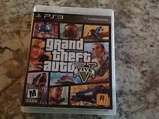 Grand Theft Auto V 5 (Sony PlayStation 3) PS3 Complete w map game VG Tested
