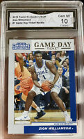 2019 Panini Contenders Zion Williamson Rookie Game  Day Ticket  Gem Mint 10