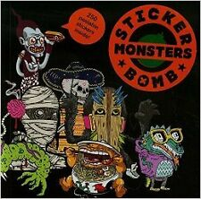 Stickerbomb Monsters New Paperback Book Studio Rarekwai