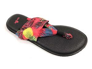 Sanuk Womens (WPNP) Yoga Sling 2 Print Hawaii Slingback Casual Sandal SWS10818S