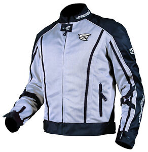 New AGVsport Solare Textile Mesh Motorcycle Jacket CE Armour YKK zips WP liner