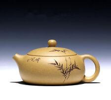 Famous teapot Ore DuNi Xi Shi pot Hand carved bamboo teapot Kung Fu tea sets