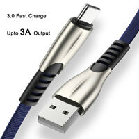 Fast Charging Cord Micro USB Data Sync Charger Cable Type C For Samsung Android