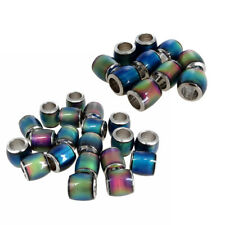 30pcs Loose Beads Mood Barrel Spacers Beads Classic DIY Charm Finding