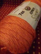 New listing Caron Simply Soft Worsted Yarn - Persimmon 7 oz 100% Acylic 366 yds