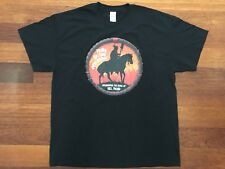 NEIL YOUNG 'Tribe Red Horse' XL T-Shirt - Crazy Zuma Native Music - BRAND NEW!!!