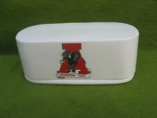 ALABAMA  CRIMSON  TIDE  2  PIECE  CERAMIC  BUTTER  BOAT..AWESOME...MADE  IN  USA