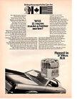 1969 MERCURY COUGAR / STIRLING MOSS ~ ORIGINAL J/WAX MUSCLE CAR AD