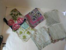 12 Vintage handkerchief lot