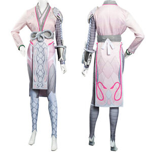 Overwatch OW Widowmaker Cosplay Costume Halloween Carnival Suit