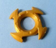 Lego Ninjago Spinner Crown ring Pearl Gold