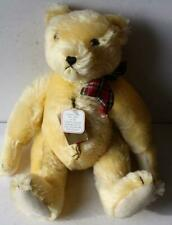 New ListingHermann Teddy Bear Yellow Mohair #387/500 Limited Edition Great Growler Red Tag