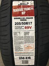 4 New 205 50 17 Summit Radial Trac II HP Tires
