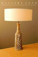 WOW! ORIG. MID CENTURY MODERN VINEYARD LAMP! 50'S 60'S VTG ITALY ATOMIC TABLE!
