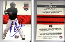 Chris Marrero Signed 2008 TRISTAR PROjection #217 Card Potomac nationals Auto