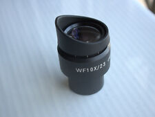 WF10X/23mm Adjustable Stereo Microscope High Eyepoint Eyepiece Rubber Eye Guards