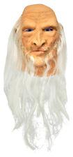 Morris Costumes Horror Halloween Merlin Over Head Mask With Beard. MI9716