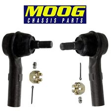 NEW Jeep Pair Set of Front Left and Right Outer Steering Tie Rod Ends MOOG