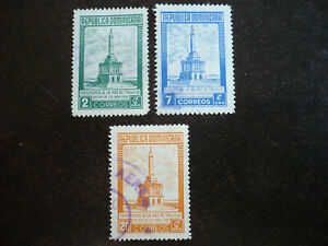Stamps - Dominican Republic - Scott# 458-460