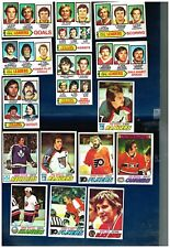 1977-78 Topps Hockey Set  TS5