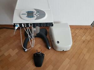 Ultradent U 3000/6 Cart mobile Behandlungseinheit mit Anschlussbox, FB Fußanlass