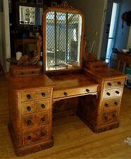 Antique Victorian Walnut dressing table