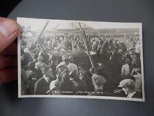 Gypsy Party Baildon ShipleyYorkshire 1929 photographic POSTCARD authentic  e