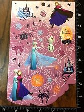 FROZEN HALLOWEEN BY DISNEY, ANNA, ELSA AND OLAF, ONE SHEET STICKERS #DULCE7