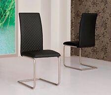 MACE High Gloss Extending 120-160 Dining Table & Chair Set - WHITE, GREY, CREAM