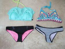 Lot, 4 size L,large Victorias Secret NEW bikini top, bottoms