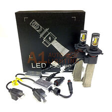 NEW Fanless Canbus H4 36W LED Headlight Kit 4000LM 6000K Xenon White Hi/Lo Bulbs