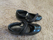 Girl's Freestyle By Danskin Black Tap Dance Children's Shoes Size 9