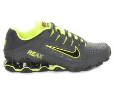 66a32d5606f9 Nike Air Reax 8 TR Sz 11 Gray Anthracite Volt Training Shoes SNEAKERS