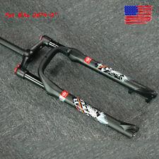 "LUTU Mountain Bike Fat Suspension Fork 26*4.0"" 100mm Disc Brake 1-1/8"" Air Forks"