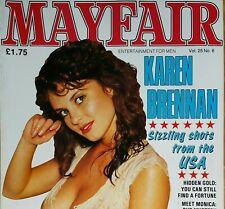 Mayfair Magazine Volume 25 Number 6 Karen Brennan Mens Adult Glamour
