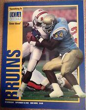 Nebraska Huskers vs UCLA Bruins Game Program Magazine 1993