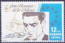 European Year of Music, Spain 1985 MNH (S8n)