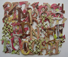 Basic Grey *URBAN COUTURE* Alphabet Chipboard Letters