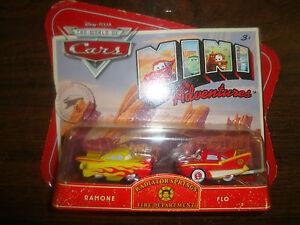 Disney---Cars---Radiator Springs Fire Dept---Ramone & Flo---Diecast---Sealed