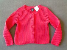 NWT BABY GAP Baby Girls Ribbed Cardigan Sweater Size 18-24 Months ~ Maui Rose