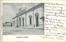 VINTAGE POSTCARD: MEXICO - CHIHUAHUA: POLICE STATION 1909