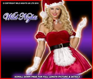 CHRISTMAS FANCY DRESS # SEXY SANTAS HELPER MED 12-14