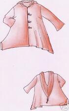 Schnittmuster Lagenlook Shirt-Jacke Malibu Gr. XL 52/54