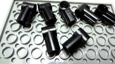 NEW Lego BLACK AXLE & PIN CONNECTOR Angled #1 Lot/8