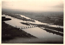 Luftaufnahme Brücke über die Loire bei Nantes Frankreich