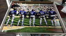 Toronto Blue Jays 1993 Wamco 16x20 Firmado fotografía MLB Béisbol cert. de autenticidad papel de aluminio holográfico