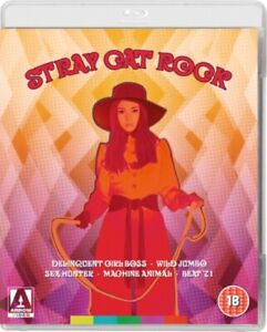 Stray Cat Rock Collection Blu-ray NEW & SEALED