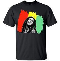 Bob Marley Rasta Reggae T-shirt Men's Sizes S - XXXL Fast Same Day Shipping!