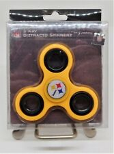 Official NFL Pittsburgh Steelers 3 Way Diztracto Spinnerz Spinner