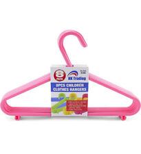 80 x Blu e Rosa Appendiabiti in Plastica Bambino Neonato Abbigliamento Hanger